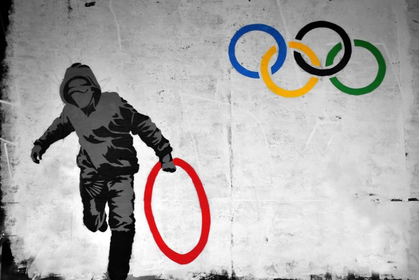 Banksy Ring Thief